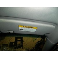 Passenger Sun Visor Illuminated 85202-3Q121-TX Hyundai Sonata 2014 2013 2012