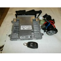 Engine Computer ECU Brain Box w/Key 2.4L VIN F 39111-2GGK0 Hyundai SONATA 2016 2015