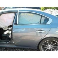 Driver Rear Door Paint Code RAP 82101-9DC0A Nissan Maxima 2014 2013 2012 2011 2010 2009