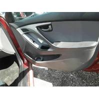 Door Trim Panel, Front Passenger 82306-3X041-RAS Hyundai Elantra 2016 2015 2014 2013 2012 2011