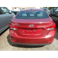Trunk Trunklid Decklid 69200-3Y010 Sedan RED Paint TR Hyundai Elantra 2016 2015 2014