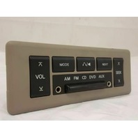 Rear audio control 28260 5z001 04 05 06 07 08 2004 2005 2006 2007 Nissan Quest
