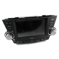 Radio Navigation 86120-0E410 E7033 Toyota Highlander 2013 2012 2011 2010