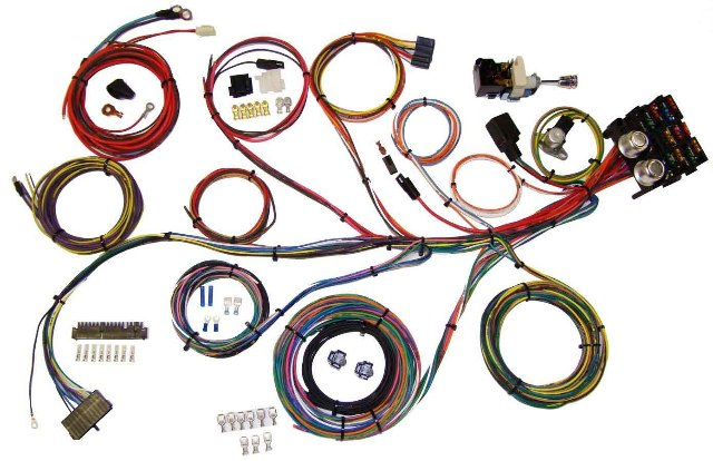American Autowire Power Plus 13 Integrated Fuse Box System