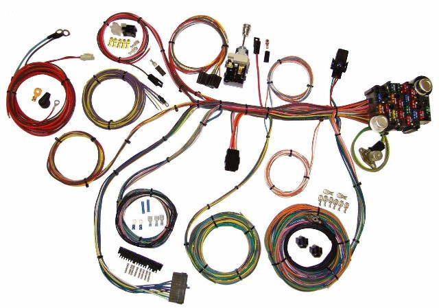 American Autowire Power Plus 20 Integrated Fuse Box System