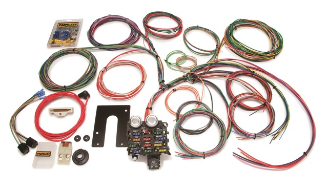 Painless Wiring 10105 22 Circuit Classic Customizable Jeep