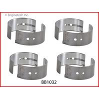 94-96 Honda 2.6L / 2559 SOHC L4 8V Isuzu 4ZE1   Rod Bearings .50