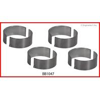 98-04 Fits Kia 1.8L / 1793 DOHC L4 16V FB T8  Rod Bearings STD