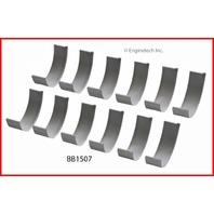 99-01 Fits Hyundai 2.5L / 2493 DOHC V6 24V G6BW DELTA   Rod Bearings STD
