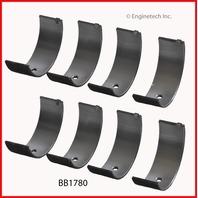 "90-92 Chevy Chevrolet 1.6L / 1587 DOHC L4 16V ""5"" 4AGE Rod bearings .25"