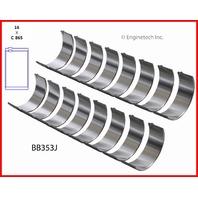 Stock GM HIGH PERFORMANCE 6.3L / 383 OHV V8 16V Chev. Small Block Stroker Rod bearings 010