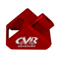 CVR PERFORMANCE GM Passing Gear Cable Bracket - Red P/N - 641R