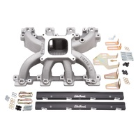 Edelbrock 29086 Victor Jr. Series Intake Manifold And Fuel Rail Kit