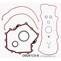 98-98 Cadillac 4.6L V8 Lower Gasket Set Engines with 1st design timing cover
