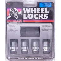GORILLA Wheel Lock System 1/2in Acorn Black 20pk P/N - 71683NBC