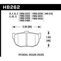 Hawk Performance HB262N.540 Disc Brake Pad