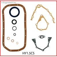 89-90 Mitsubishi 1.5L Fuel Injected 4G15 Lower Gasket Set