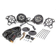 KC HILITES LZR Series LED Lights 4in Round Driving P/N - 300
