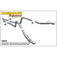 MAGNAFLOW PERF EXHAUST 2010 Mustang 4.0L Cat Back Exhaust System P/N - 16575