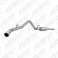 MBRP Exhaust S5080AL Installer Series Cat Back Exhaust System