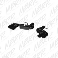 MBRP Exhaust S7036BLK Black Series Axle Back Exhaust System Fits 16-17 Camaro