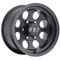 MICKEY THOMPSON 17x9 Classic III Wheel 5x5BC 4-1/2BS Black P/N - 90000001794