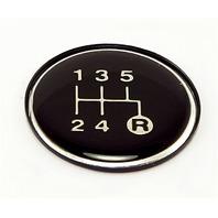 Omix-Ada 18885.28 Transmission Shift Pattern Plate Fits 82-86 CJ5 CJ7
