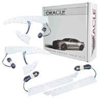 ORACLE LIGHTING 14-  GMC Sierra LED Halo Headlight Kit Colorshift P/N - 2450-333