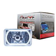 ORACLE LIGHTING 4x6in Sealed Beam Head Light w/Halo White P/N - 6909-001