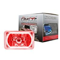 ORACLE LIGHTING Pre-Installed Lights 4in x 6in Sealed Beam Red P/N - 6909-003