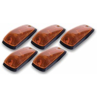 PACER PERFORMANCE Cab Roof Lights Amber 88-02 GM P/U Non LED P/N - 20-220