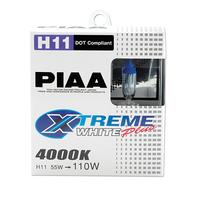 PIAA H11 110W Xtreme White Bulb Twin Pack P/N - 15211