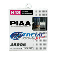 PIAA Xtreme White Bulbs H13 Pair P/N - 19618