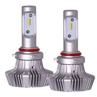 PIAA 9005 Platinum LED Bulb T win Pack - 4000Lm  6000K P/N -26-17395