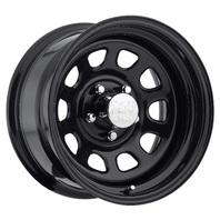 Pro Comp Wheels 51-5165F Rock Crawler Series 51 Black Wheel