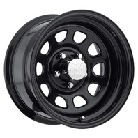 Pro Comp Wheels 51-5865F Rock Crawler Series 51 Black Wheel