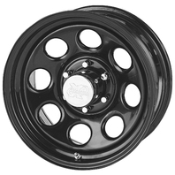 Pro Comp Wheels 97-7981 Rock Crawler Series 97 Black Monster Mod Wheel