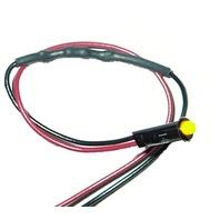 PAINLESS WIRING 1/8in Amber Dash Light  P/N - 80200