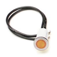 PAINLESS WIRING 1/2in Amber Dash Light  P/N - 80208