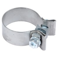 PYPES PERFORMANCE EXHAUST SS Band Clamp 2.25 x 1in Each P/N - HVC25
