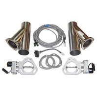 PYPES PERFORMANCE EXHAUST Exhaust Cutout Kit Dual w/YPipe 2.5in Pair P/N - HVE10K