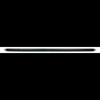 QUICKCAR RACING PRODUCTS 5/8 Aluminum Scalloped Tube - 25.0in. P/N - 62-250
