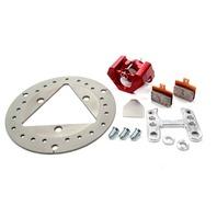 RED DEVIL/ULTRA LITE BRAKES Left Front Brake Kit TI Rotor P/N - 410-7200