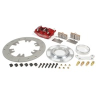 RED DEVIL/ULTRA LITE BRAKES Right or Left Rear Brake Kit TI Rotor P/N - 410-9400