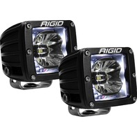 RIGID INDUSTRIES LED Light Pair Radiance Pod White Backlight P/N - 20200