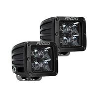 RIGID INDUSTRIES LED Light Pair D-Series Spot Midnight P/N - 202213BLK