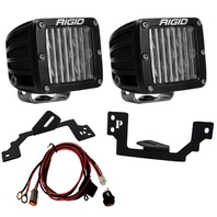 RIGID INDUSTRIES LED Light Pair SAE D-Series Fog P/N - 504813