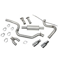 ROUSH PERFORMANCE PARTS Cat-Back Exhaust Kit 12-17 Ford Focus ST P/N - 421610