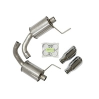 ROUSH PERFORMANCE PARTS Axle Back Exhaust Kit 15-16 Mustang GT P/N - 421834