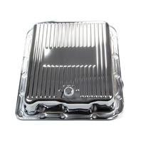 RACING POWER CO-PACKAGED GM 700R4/4L60E Trans Pan Chrome Steel Finned P/N - R7599